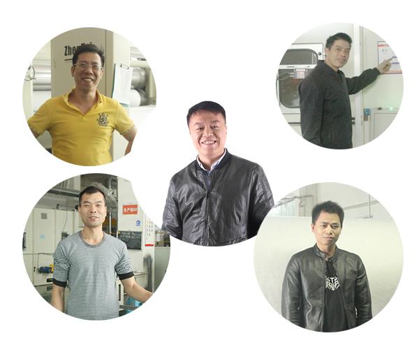 聚酯纤维无胶棉生产人员