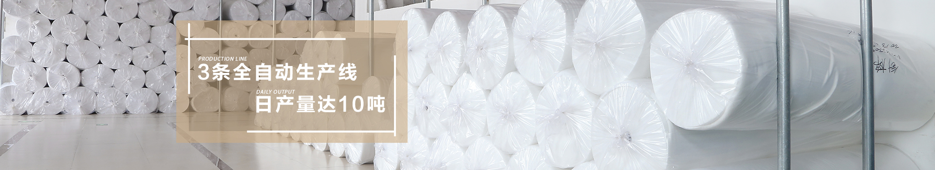 智成-3条全自动生产线,日产量达10吨