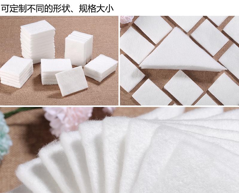 吸水棉可定制不同的形状、规格大小