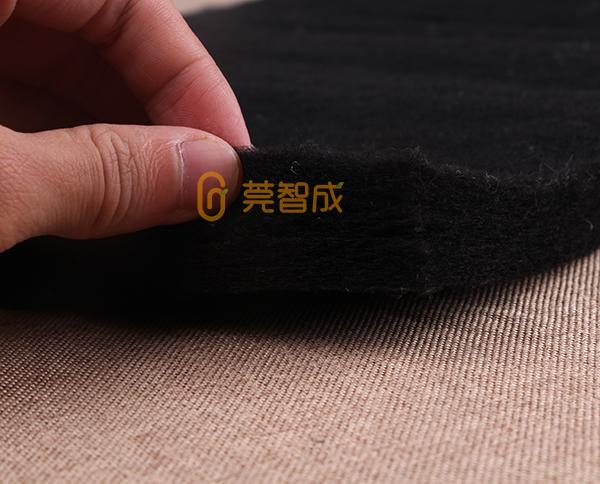 黑色无胶棉