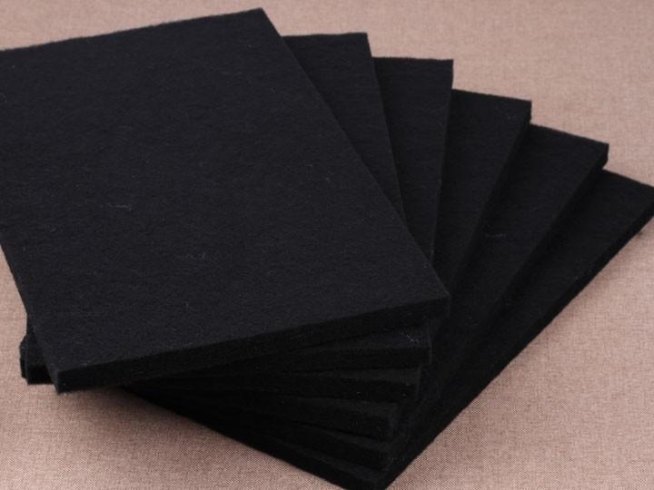 黑色硬质棉