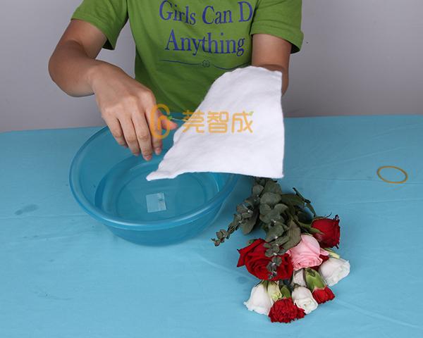 鲜花保水棉