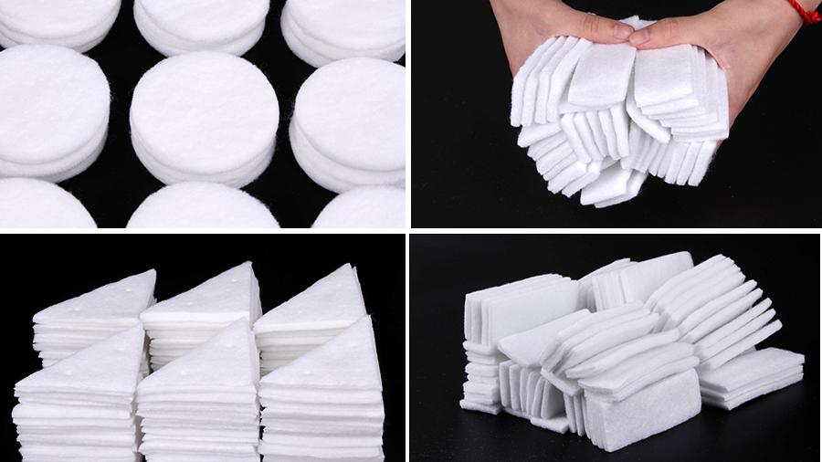 膏药吸水棉片形状规格可定制
