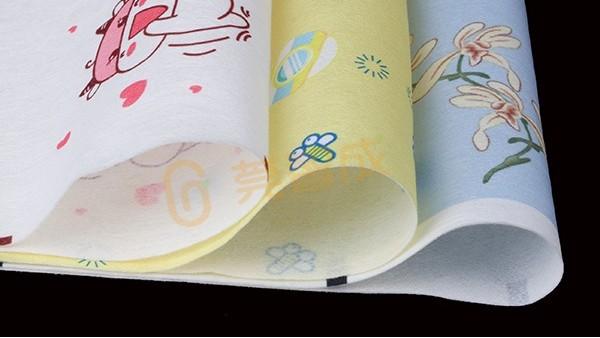 蒸汽眼罩印花水刺无纺布和针刺棉有什么区别