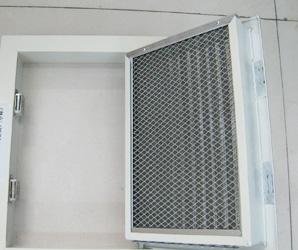 无胶棉用于空气净化