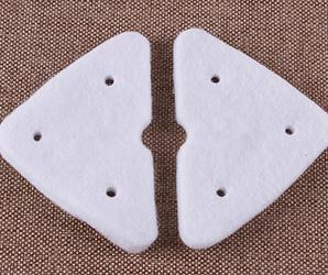 针刺毡应用于玻璃清洁棉