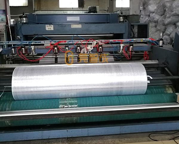 铝箔针刺棉生产