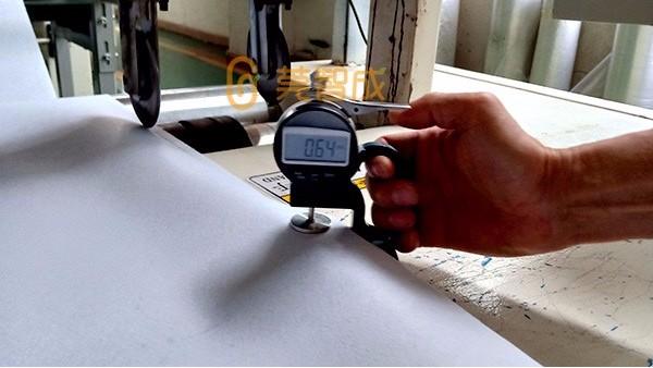 复合针刺无纺布-厚度误差控制在0.1mm以内