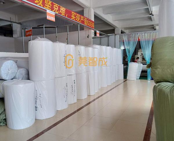 无胶棉生产流程