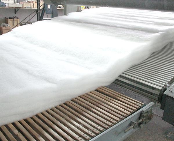 白色针刺无纺布生产设备