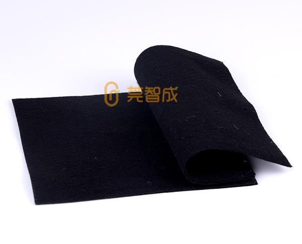 黑色针刺无纺布生产