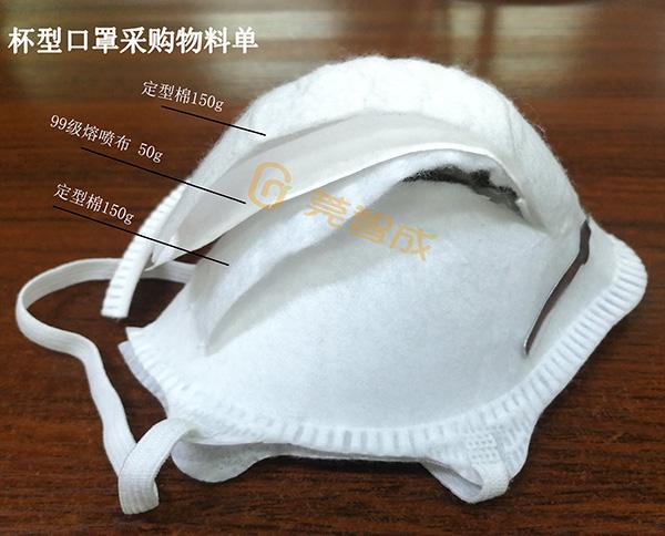 杯型口罩结构