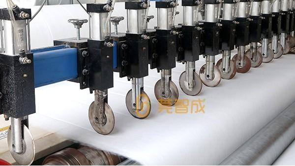 应用于汽车铺地材料的涤纶针刺无纺布