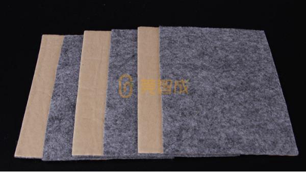 背胶针刺棉-选择智成纤维