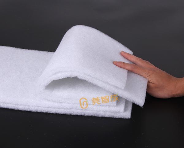 环保无胶棉填充材料