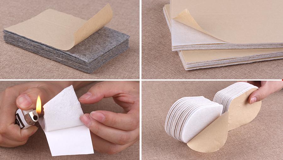 背胶无纺布颜色、形状规格可定制