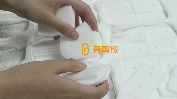 高性能的玻璃擦清洁棉