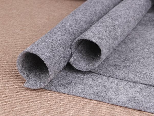 灰色针刺无纺布