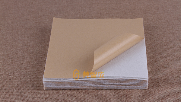 背胶针刺棉-一种能产生不同功能的表面加工技术