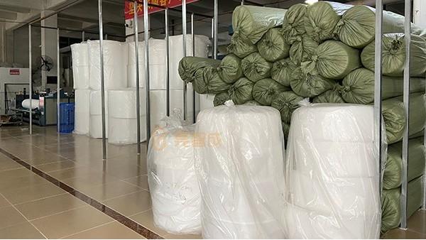 床垫贴合防火针棉无纺布-工厂直销