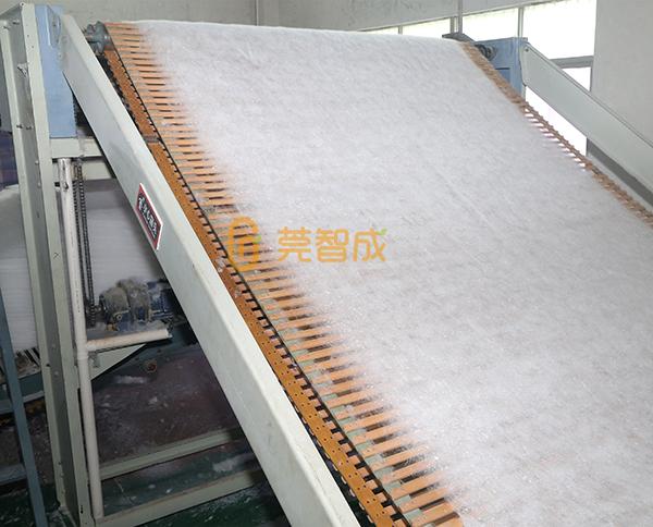环保树脂棉生产