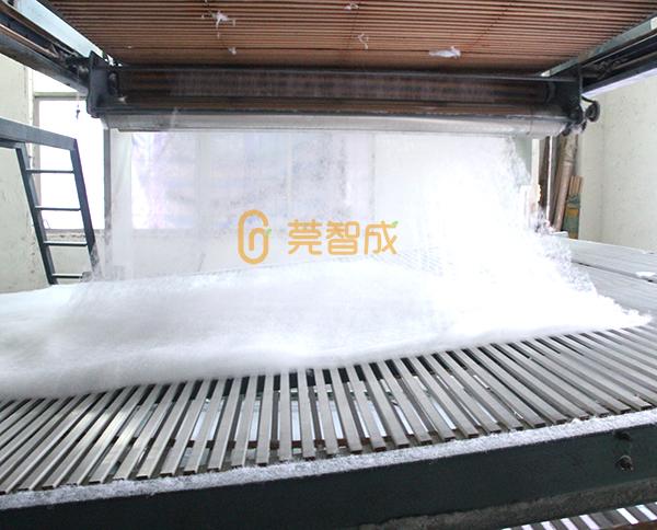 热风棉铺网