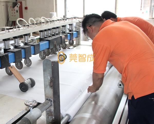 针扎棉生产
