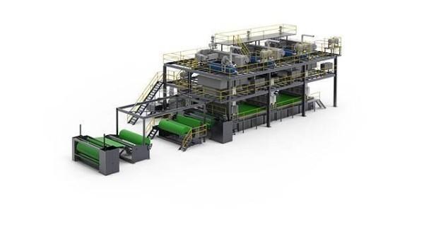 莱芬5型纺粘非织造布生产线在佛山市九江镇实现商业化运营