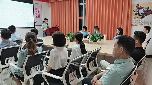 书香浸润心田-智成纤维183期读书会