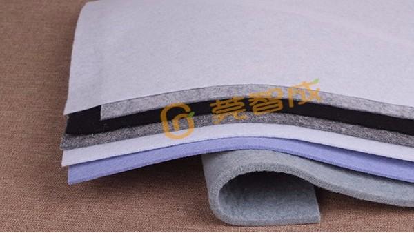 不同的生产工艺-制成上千种化纤针刺无纺布