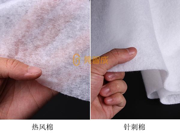 热风棉和针刺棉