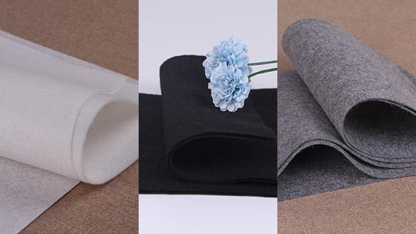 黑、白、灰针刺棉无纺布交叉生产会不会变脏