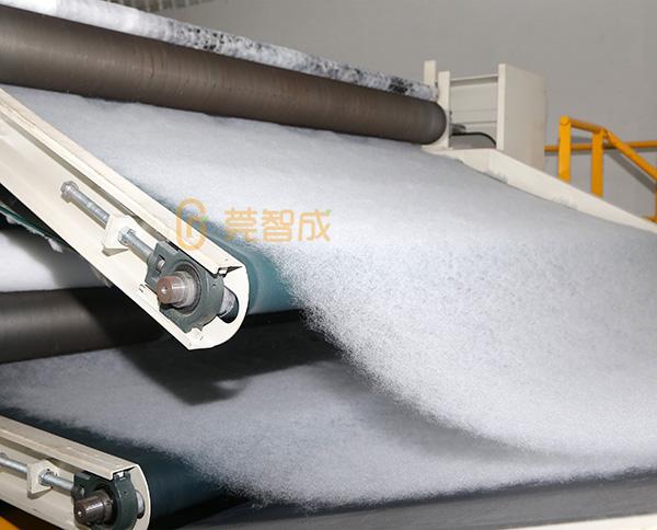 针刺棉生产